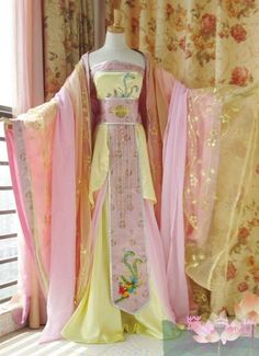 Taehyung's father is a monk in the temple of the Jeon Dynasty, and th… # Fanfiction # amreading # books # wattpad Pretty Outfits, Pretty Dresses, Beautiful Dresses, Doll Style, Mode Kimono, Fantasy Dress, Chinese Clothing, Kimono Dress, Hanfu