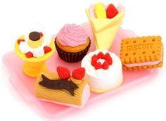 Ensemble de 6 gommes Iwako glaces et gâteaux de Iwako, http://www.amazon.fr/dp/B004C10HIS/ref=cm_sw_r_pi_dp_fbaHsb05KNTJ2