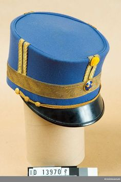 Forage Cap for General at the Army Corps of Engineers. (Comment by original pinner.