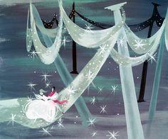 'cinderella' concept art, mary blair