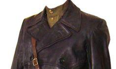 secret police-style leather coats