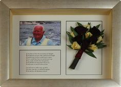 Memory boxes are very personal, each one is unique. Some things you could include are a few flowers from the floral tributes, a photo, a favourite poem, song lyrics or reading from the funeral service