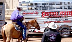 Proud to again Sponsor with CSTK Custom Trailer of Scott Daily Horse Training at the 2016 Oklahoma City Farm Show April 14-16th (800) 848-3095