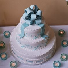 The best wedding cake in world--from McArthur's Bakery.