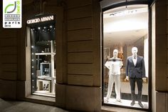 Giorgio Armani windows 2014 Summer, Paris – France