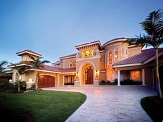 Italianate House Plan with 8319 Square Feet and 5 Bedrooms from Dream Home Source | House Plan Code DHSW54739