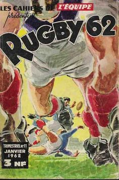 Les cahiers de l'Equipe 1962 Kids Gym Games, Rugby Pictures, Rugby Poster, Combat Boxe, Basketball Posters, Sports Posters, All Blacks Rugby, Rugby Sport, Baseball Signs