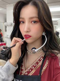 South Korean Girls, Korean Girl Groups, Pop Photos, Gfriend Sowon, Cloud Dancer, G Friend, Ultra Violet, Nice Tops, Vogue