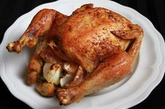 Roast Chicken with Coconut Oil recipe and video