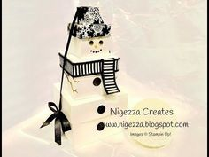 Do you want to build a snowman? Stampin Up Style!