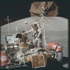 https://flic.kr/p/yZu2fh | AS17-134-20477 | Apollo 17 Hasselblad image from film magazine 134/B - EVA-1 & 3
