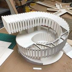 Architecture Pliage, Architecture Paramétrique, Tectonic Architecture, Maquette Architecture, Concept Models Architecture, Architecture Model Making, Cultural Architecture, Organic Architecture, Amazing Architecture