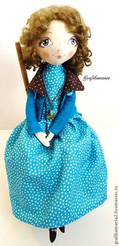 """Коллекционные куклы ручной работы. Ярмарка Мастеров - ручная работа Кукла """"Вика"""". Handmade."""