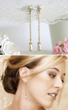 Pearl bridesmaid jewelry Pearl bridesmaids от AlinYerushalmi