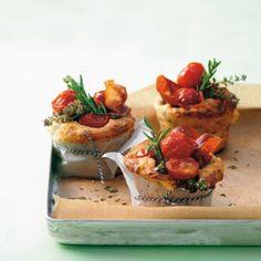 Herzhafte Tomaten-Muffins