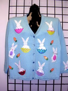 Terazzo Ugly Easter Sweater on eBay $49