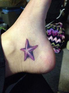 Starfish tattoo <3