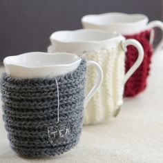 Sweaters for Cups. (translated from Polish)