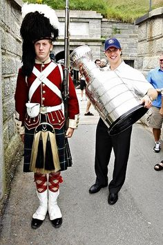 Sidney Crosby celebrating his day with the cup