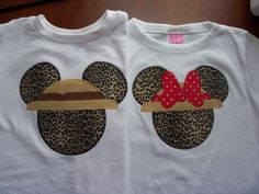Cheetah Mouse Head Appliqued Tees by sewTEErific on Etsy