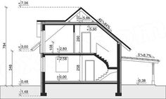 Rzut projektu Dom przy Cyprysowej 34 Floor Plans, House, Home, Haus, Houses, Homes