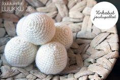 DIY Crochet ball Crochet Ball, Diy Crochet, Christmas Calendar, Diy Christmas, Blog, Blogging