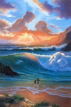 Чувственные работы Джима Уоррена (21 картина)
