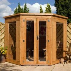 corner shed sheds pinterest gardens garden ideas and backyard