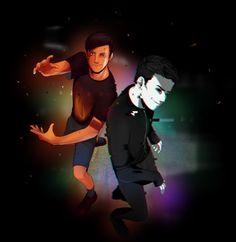 ABlazing Phil and Dark Daniel