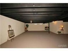 Finishing a Basement on a Budget Floor painting Basements and