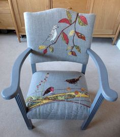 Ideas For Furniture Makeover Sofa Upholstered Chairs Reupholster Furniture, Furniture Ads, Funky Furniture, Recycled Furniture, Furniture Makeover, Painted Furniture, Re Upholster Chair, Furniture Websites, Swivel Chair