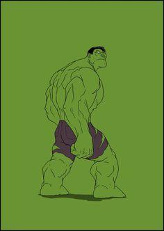 (Hulk) By: Angelo Nardone Hulk Comic, Hulk Avengers, Hulk Marvel, Marvel Art, Marvel Heroes, Marvel Comics, Epic Characters, Marvel Characters, Marvel Universe