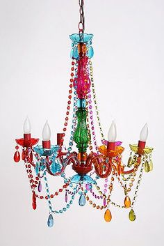 Gypsy chandelier for our 1960s-Psychedelic-Beatles-in-India themed bedroom