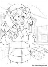 Rio Coloring Pages On Book