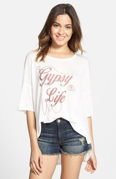 Project Social T 'Gypsy Life' Graphic Tee available at #Nordstrom