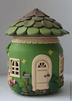 120 easy to try diy polymer clay fairy garden ideas (65)