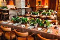 Tuscan in Tremblant — Full Bloom - figs - pears - rustic - centrpieces At The Hotel, Figs, Pears, Fall Wedding, Floral Design, Table Settings, Wedding Inspiration, Bloom, Rustic
