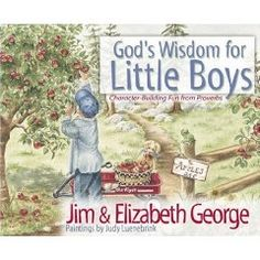 God's Wisdom for Little Boys: Character-Building Fun from Proverbs [Hardcover], (christian childrens book, boys, christian parenting, proverbs, inspirational, encouraging, kids, awesome, childrens books, virtues)
