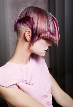Realmente impressionante essa coloração de cabelo!