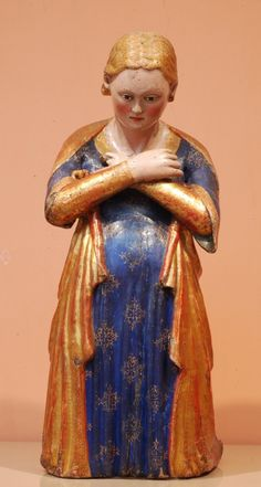 Anónimo sienés. Nuestra Señora de la Anunciación