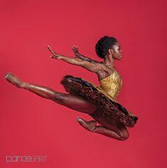 Ballerina Michaela DePrince for Dance Spirit Magazine Photography by Michel Schnater Ballet Poses, Ballet Art, Dance Poses, Ballet Dancers, Dancers Feet, Boris Vallejo, Black Dancers, Black Ballerina, Misty Copeland