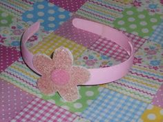 Bandolete flôr de 5 rosa