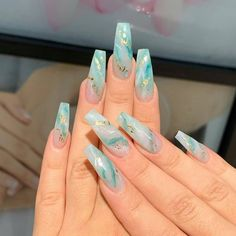 """Today Nailz on Instagram: """"Glamour Nails Follow @todaynailz 💅 Nail Artist: @nailsby_melissa . Turn on post notification, If you don't want to miss any of my…"""""""