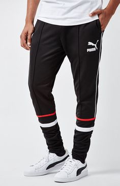 Puma Pure Long Running Tights SS15 Mens Black