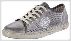 Rieker L7525-40, Damen Sneaker, Grau (whitegrey 40), EU 37 - Sneakers für frauen (*Partner-Link)