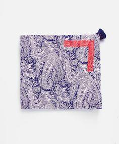 Pareo toalla paisley bordado - OYSHO