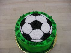 Image of: Soccer Ball Cake Images
