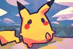 Pikachu (by すずか, Pixiv Id 2308426)
