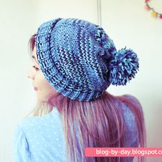 Blog-By-Day: Aula de Tricô Para Iniciantes :: Aula 16 - Ajustando o Tamanho da Peça de Tricô Blog By Day, Knitted Hats, Crochet Hats, Weaving Patterns, Baby Knitting, Diy And Crafts, Best Gifts, About Me Blog, Elsa