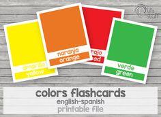 Un favorito personal de mi tienda Etsy https://www.etsy.com/mx/listing/238342167/tarjetas-de-colores-imprimibles-para